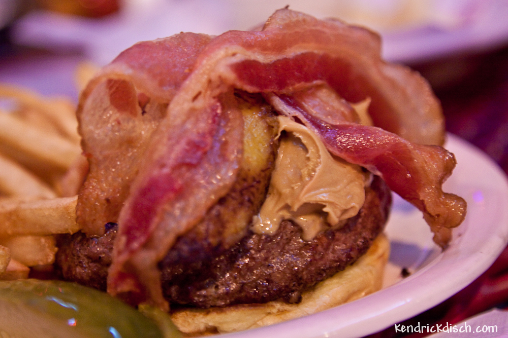 The Elvis Burger from The Vortex | Kendrick Disch