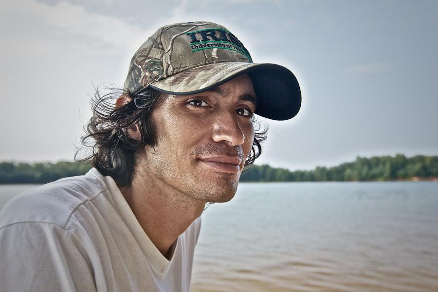 Gino on Lake Lanier