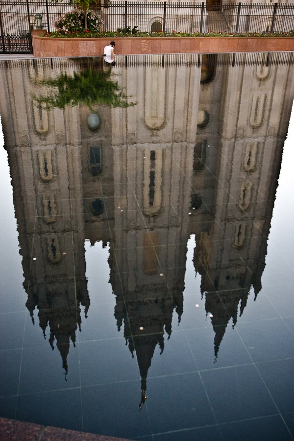Reflection of Salt Lake Temple