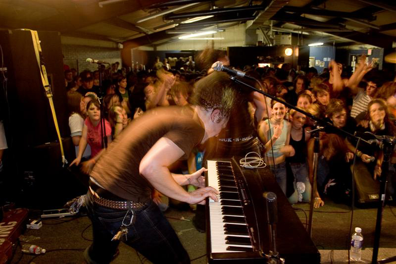 The Wedding performing at The Music Hall