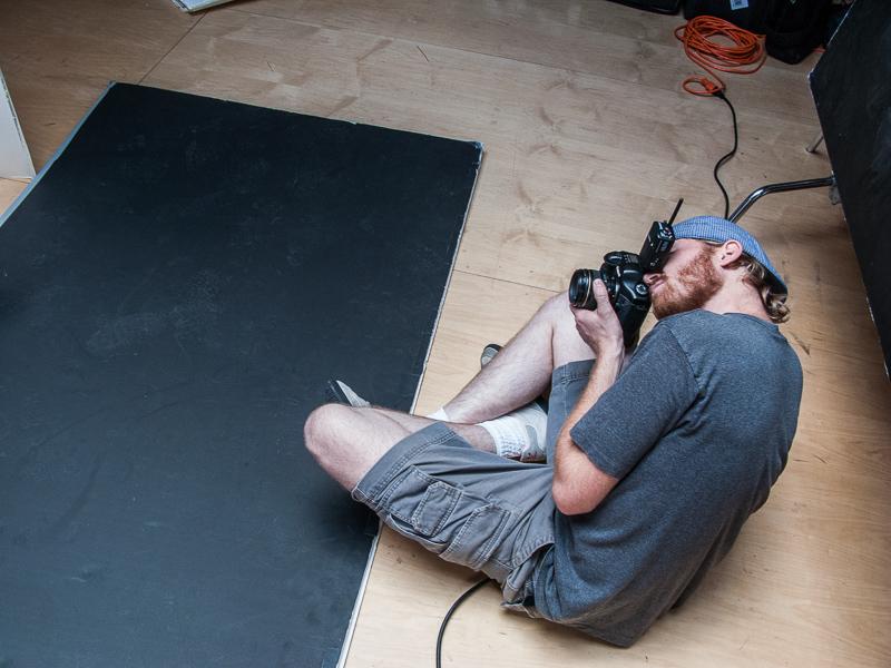2009 - Assistant Morgan on a portrait shoot