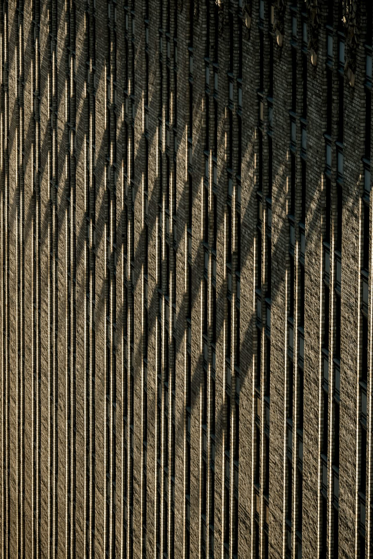 Shadow on building in New York City